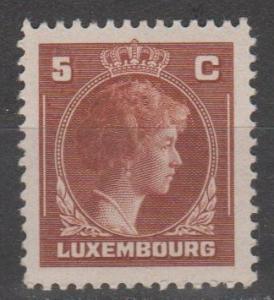 Luxembourg #218  MNH  F-VF (SU1198)