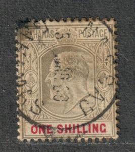 Bahamas Sc#41 Used/F-VF, Wmk #2, Cv. $65