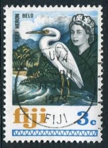 FIJI 1969 - 3c REEF HERON - USED