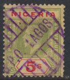 Nigeria  SG 10 Used Die I  1914 issue please see scans