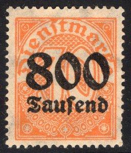 GERMANY SCOTT O36