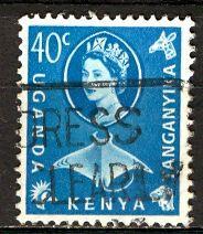 Kenya Uganda & Tanganyika; 1960: Sc. # 126: O/Used Single Stamp