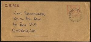 NEW ZEALAND 1978 OHMS cover OHAKEA / AIR FORCE cds.........................99050