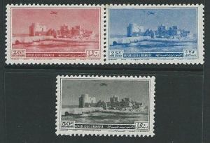 SYRIA 1950 Airs - 3 values mint............................................38403