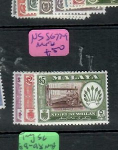 MALAYA  NEGRI SEMBILAN  (P1606B)  SG  77-9    MOG