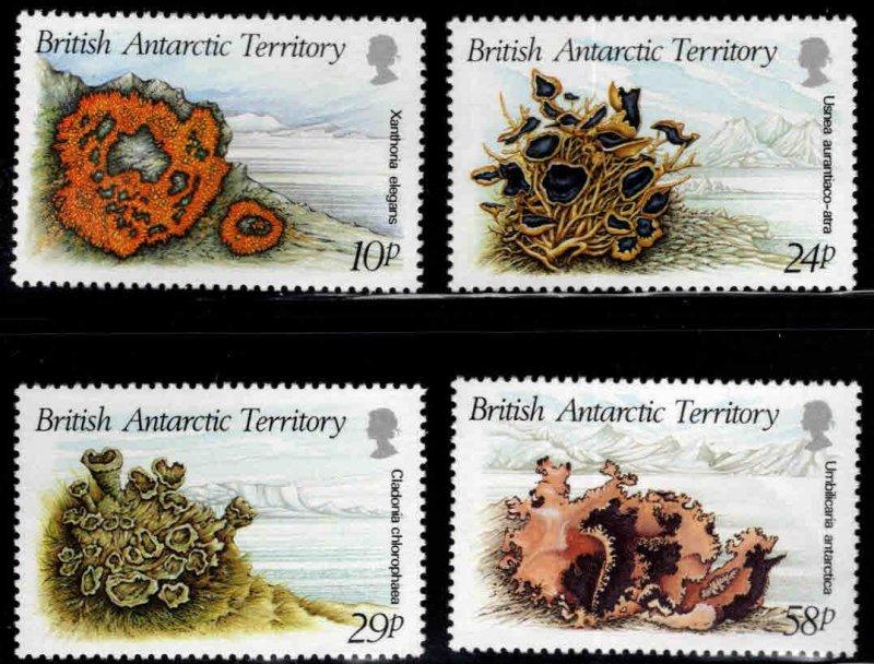 British Antarctic Territory (BAT) Scott 149-152 MNH**Lichen set