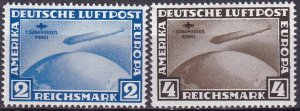 Germany #C38-9 MNH CV $2600.00 Counterfeits  (Z3046)