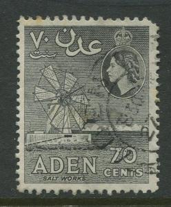 STAMP STATION PERTH Aden #54 - QEII Definitive Issue 1953-59  Used  CV$0.25.