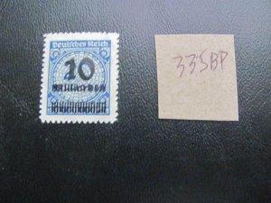 GERMANY 1923 MNH  MINR. 335BP INFLATION