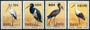 1994 Namibia 776-779 Birds of Etosha - Storks