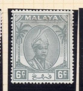 Penang Malaya 1950 Early Issue Fine Mint Hinged 6c. 029732