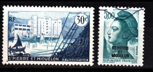 St Pierre & Miquelon 346, 654