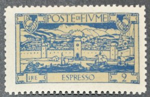 DYNAMITE Stamps: Fiume Scott #E13 – MINT
