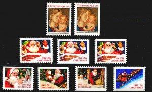 Santa Madonna & Child Christmas 1991 Complete With No Brick Chimney Type MNH