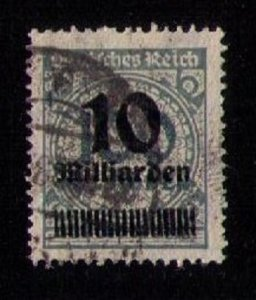 Germany Sc 316 Used Very Fine