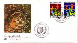 United Nations Vienna, First Day Cover
