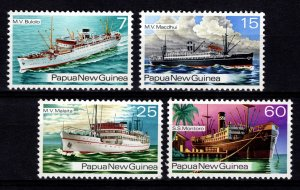 Papua New Guinea 1976 Ships of the 1930s Set [Mint]