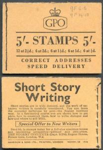 H24 November 1956 5/- Booklet