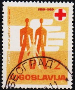 Yugoslavia. 1959 2d S.G.D927 Fine Used