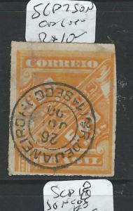 BRAZIL (PP1106B)  NEWSPAPER STAMP       SCP7   SON CDS  VFU
