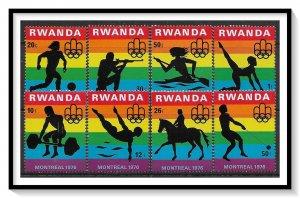 Rwanda #762-769 Olympics Set MNH