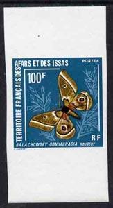 French Afars & Issas 1976 Balachowski Butterfly 100f ...