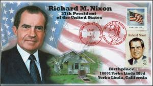 2016, Richard M. Nixon, President, Birthplace, Yorba Linda CA, Pictorial, 16-137