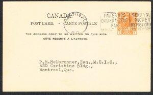 Canada Unitrade Postal Card UX29k