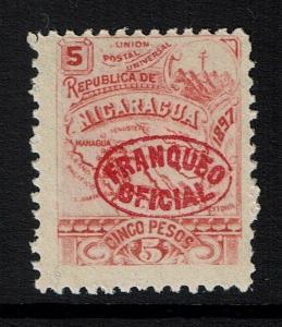 Nicaragua SC# O108, Mint Never Hinged - Lot 111316