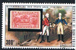 Burkina Faso 337 Used Stamp 1974 (BP3543)