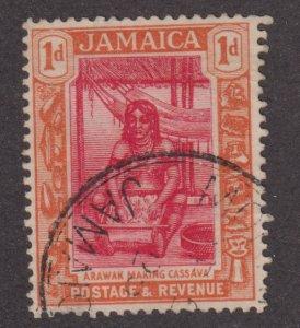 Jamaica 89  Arawak Woman Preparing Cassava 1922