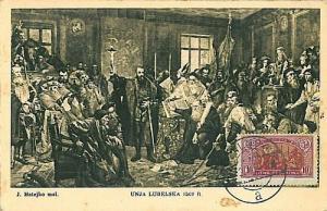 POLITICS : POLAND 1927  MAXIMUM CARD