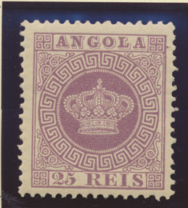 Angola Stamp Scott #12, Mint Hinged - Free U.S. Shipping, Free Worldwide Ship...