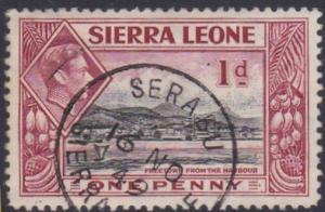 SIERRA LEONE GVI 1d - 1949 SERABUA cds.....................................87596