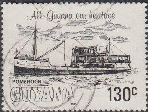 Guyana #663 Used