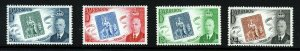 BARBADOS King George VI 1952 The Stamp Centenary Set SG 285 to SG 288 MNH
