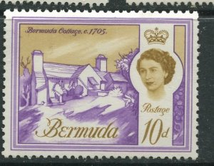 STAMP STATION PERTH Bermuda #182A QEII Definitive Issue MVLH CV$9.00