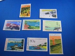 ALBANIA 1967 - SCOTT #  1035-1042   MNH
