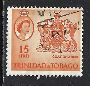 TRINIDAD & TOBAGO 116 VFU ARMS V245-2