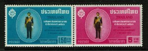 Thailand SC# 419 and 420, Mint Hinged, sm Hinge Rem - S13280