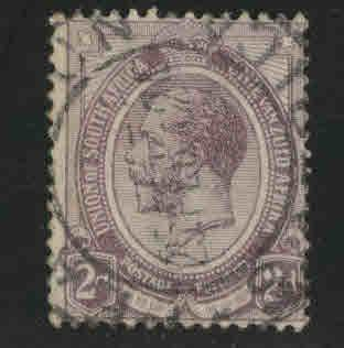 South Africa Scott 5 used 1913 stamp