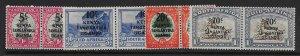 KENYA, UGANDA & TANGANYIKA SG151/4 1941-2 OVERPRINT SET MTD MINT