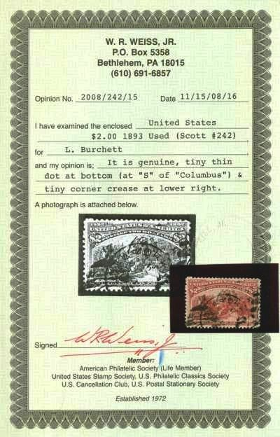 listing dominica used single stamp