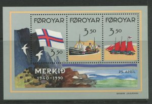 STAMP STATION PERTH Faroe Is.#207 Pictorial Definitive Iss. MNH 1990 CV$7.00