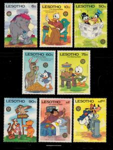 Lesotho Scott 502-509 Mint never hinged.