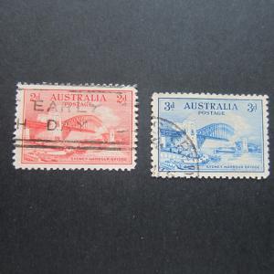 Australia 1932 Sc 130-131 FU