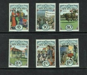 New Zealand: 1993, New Zealand in the 1930's,  MNH set