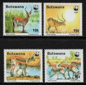 Botswana #432-5 MNH Set - WWF