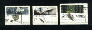 Can #1283-85    used VF 1990 PD