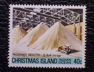 Christmas Island Scott #109 unused